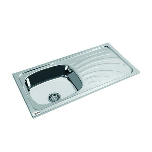 Kitchen Sink Oval Range Drain Board