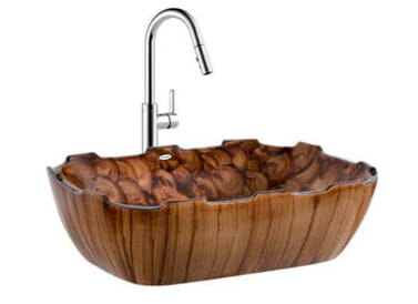 Designer Table Top Wash Basin Cyber Art - 2