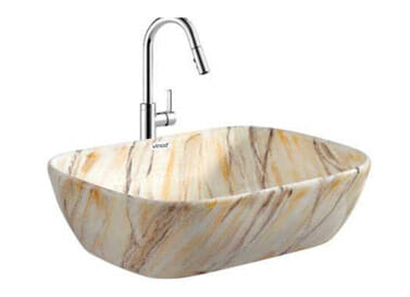 Designer Table Top Wash Basin Cyber Art - 5
