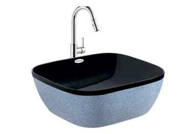 Designer Table Top Wash Basin Icon Black