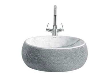Designer Table Top Wash Basin Titan Art - 5